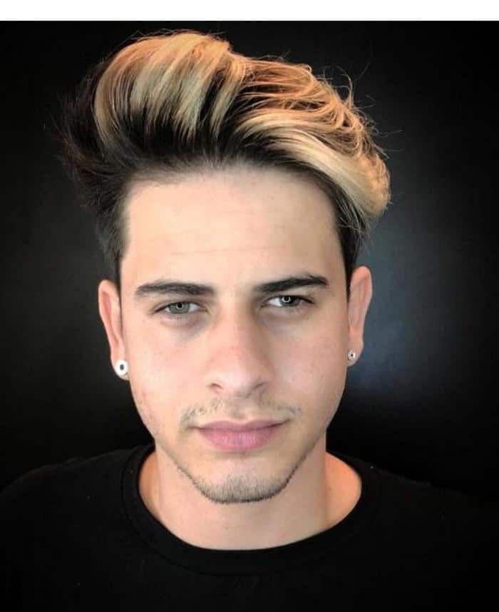 8 Steps To Get Ombre Hair Without Bleach With Images Men Hair