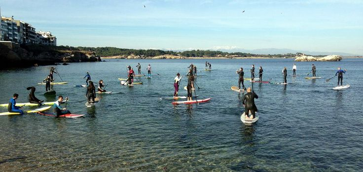 group trip starting from L'Escala beach