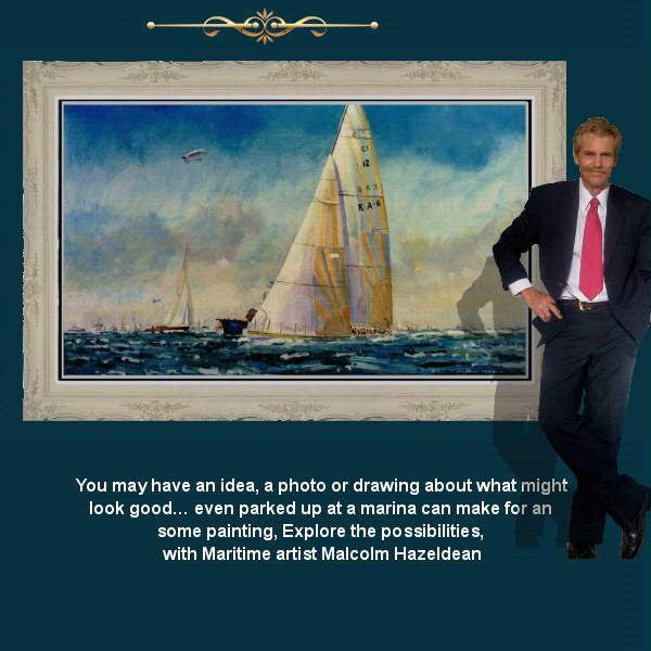 From Americas Cup or Sydney to Hobart…… with Maritime artist Malcolm Hazeldean…. https://www.youtube.com/watch?v=76zz2ISakDQ geatvideo@yahoo.com.au
