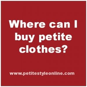 Click here to find out where can I buy #petite #clothes in the UK.