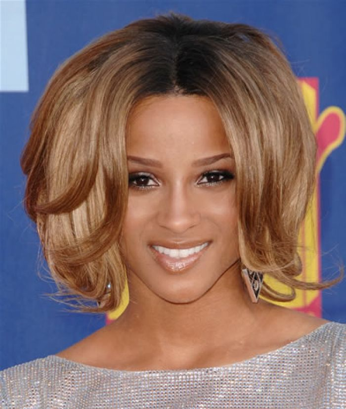 How I want my hair for PROM. Ciara blone hair style.