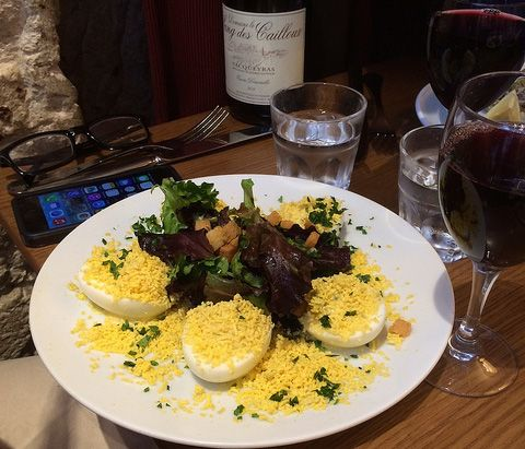 sitting down to a delicious prix fixe meal in paris is a lunch time