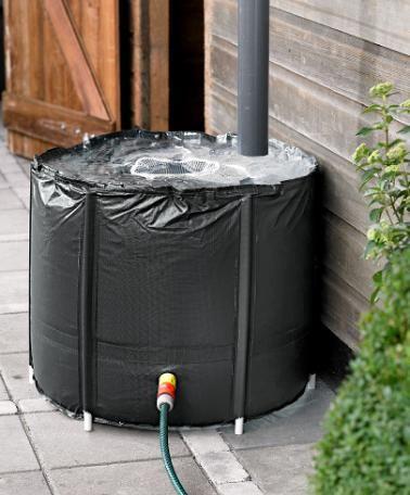 Regenton  Vang zelf eenvoudig regenwater op!    #bakker #tuin #tuinaccesoires    http://www.bakker-hillegom.nl/product/regenton1/