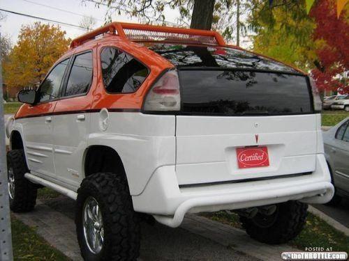 Ugly Cars: Pontiac Aztek Edition (17 Photos)