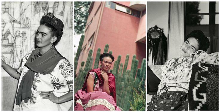Фрида Кало и мода. «Когда я была в Париже с Андре Бретоном, по случаю его выставки, - писала она в письме Диего Ривере, - все смотрели на меня: на мои красивые вышитые индейские костюмы, на мои прически с цветами».