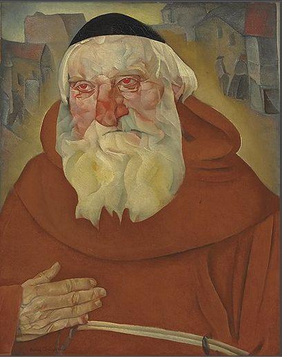 "Борис Григорьев. ""Монах"", 1922 год."