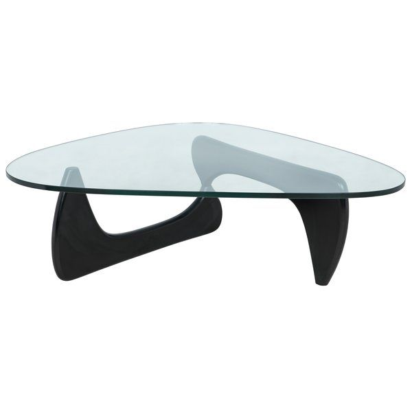 Cali Abstract Coffee Table With Images Triangle Coffee Table