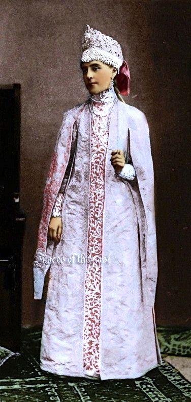 Princess Marie Obolenski at the Winter Palace Costume Ball of 1903. by ~VelkokneznaMaria on deviantART
