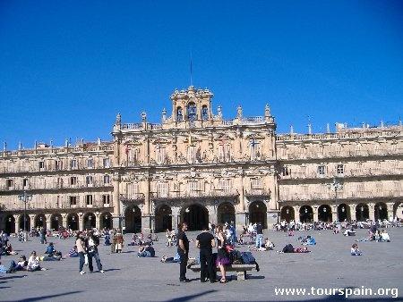 Salamanca in March Plaza Mayor