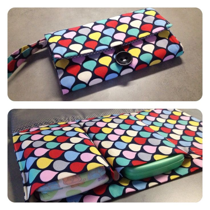 Nappy wallet with attached change mat by schwuppdiwupp on Etsy https://www.etsy.com/listing/231741993/nappy-wallet-with-attached-change-mat