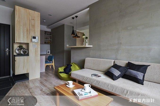 樸實清水模 打造3口之家療癒小宅 - 設計家 SearchHome