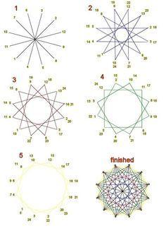 String Art technique