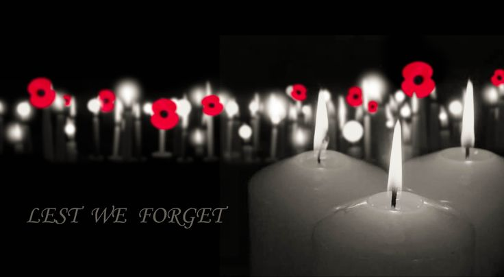 We are proud of all of our soldiers, both past and present. Anzac Day - Lest we forget.