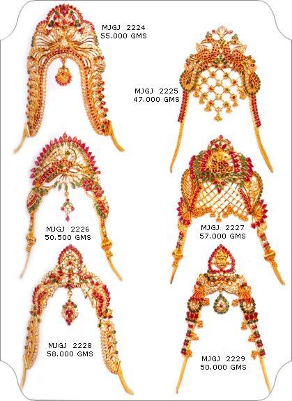 Jewellery Designs: 22 Carat Armlet/vanki Designs From Manepally jewel...