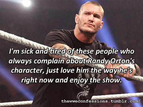 WWE Confessions.