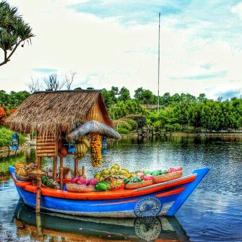 Floating Market Lembang, Bandung, Indonesia