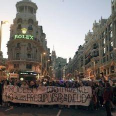 Página/12 :: Ultimas Noticias :: Madrid vuelve a manifestarse contra los ajustes de Rajoy