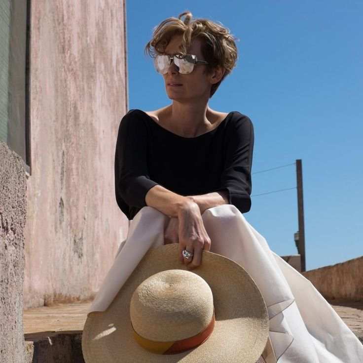 how raf simons came to co-create tilda swinton's wardrobe for 'a bigger splash'