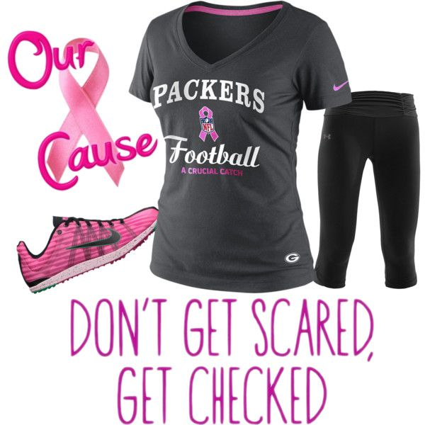 Packer Workout Clothes For Breast Cancer Awareness