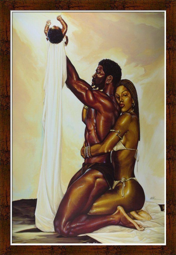 African sex art