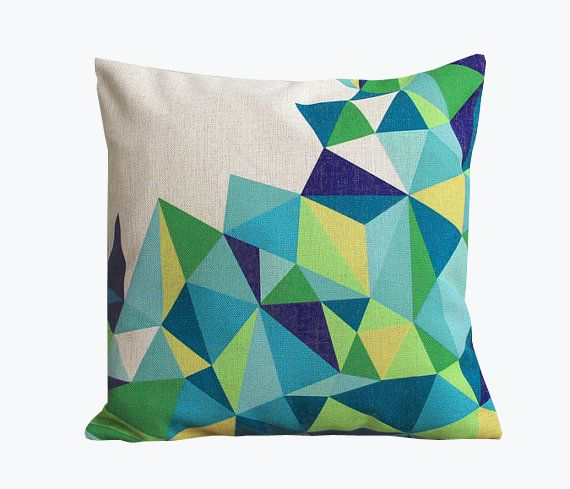 Atmosphärisch Kissen geometrisch ▲▲▲ von ▲▲▲Atmosphärisch▲▲▲ auf DaWanda.com