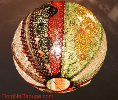 135 best Lamparas images on Pinterest Crochet lampshade