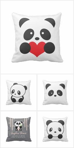Panda Cushions