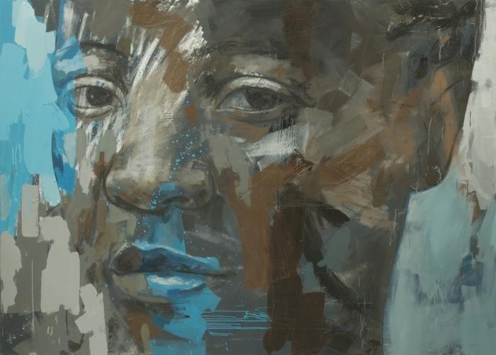 Fragile Area, 230 X 165cm, oil on canvas