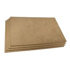 WarmlyYours Cork 2 ft. x 3 ft. Insulating Underlayment (Pack of 4 Sheets)