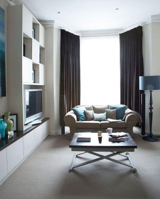 Sleek Low Level Furniture Creates A Smart Elegant Look Part 54