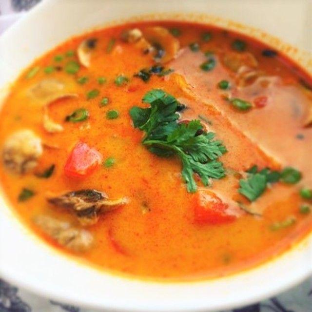 Tom kha suppe – vegetar <3