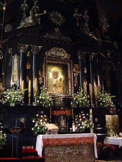 The Black Madonna Altar of Czestochowa, Poland