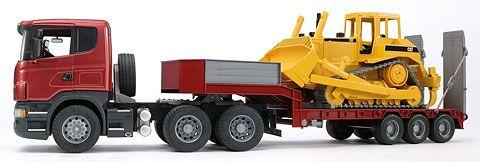 03556 - Bruder Scania R Series Low Loader