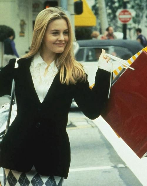 Alicia Silverstone in Clueless #inspiration #bumpkinbetty