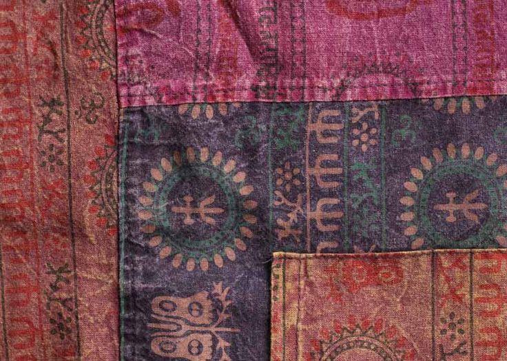 La Tela del Pant Thai Yoga es de puro algodón 100%. http://www.savari.biz/pantalones/10-thai-pants.html