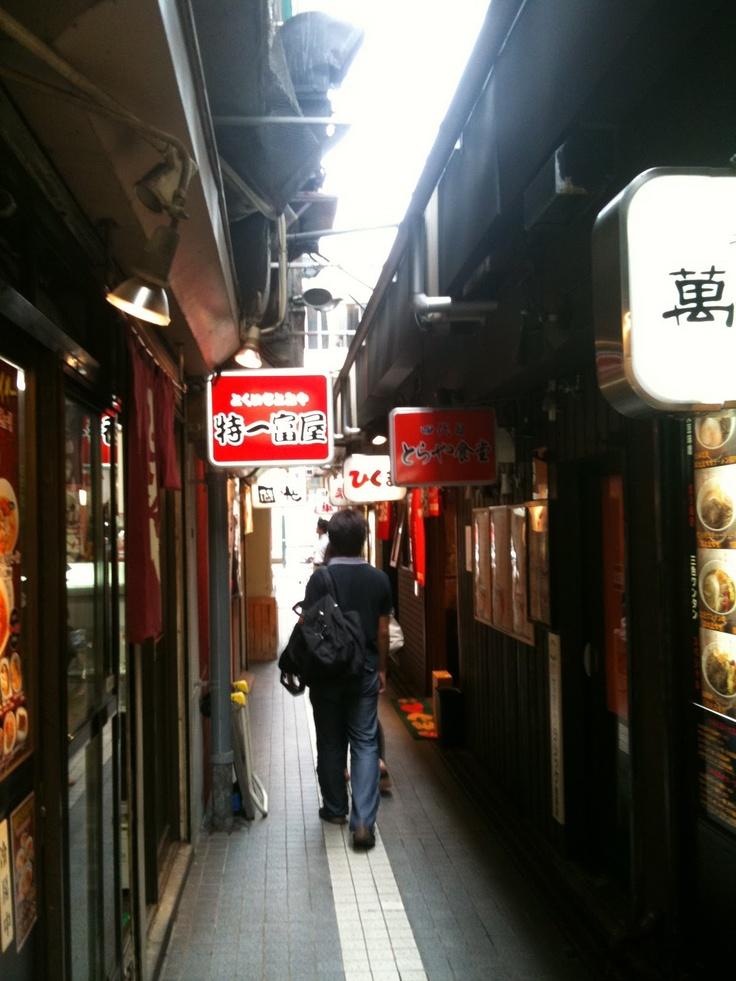 Sapporo Ramen Alley 札幌ラーメン横丁
