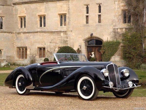 1935 Delahaye 135 MS Cabriolet