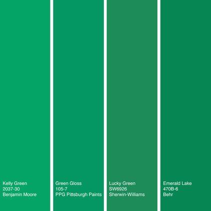 kelly green, one of my very favorites   by Jennifer Ott ...