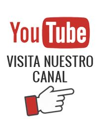 Visitanos en nuestro cana you tube y permanece informado de todas las novedades a través de vídeos. http://www.youtube.com/channel/UCCycJmk07tUFRfFReJUtItg