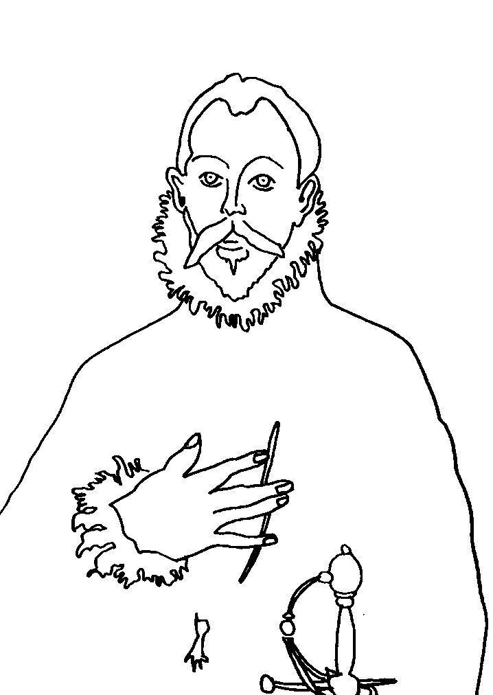 El caballero de la mano en el pecho El Greco Para