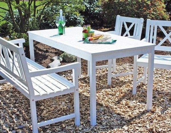 Gartenstühle holz weiß  Die besten 25+ Gartentisch holz ebay Ideen auf Pinterest | Tisch ...
