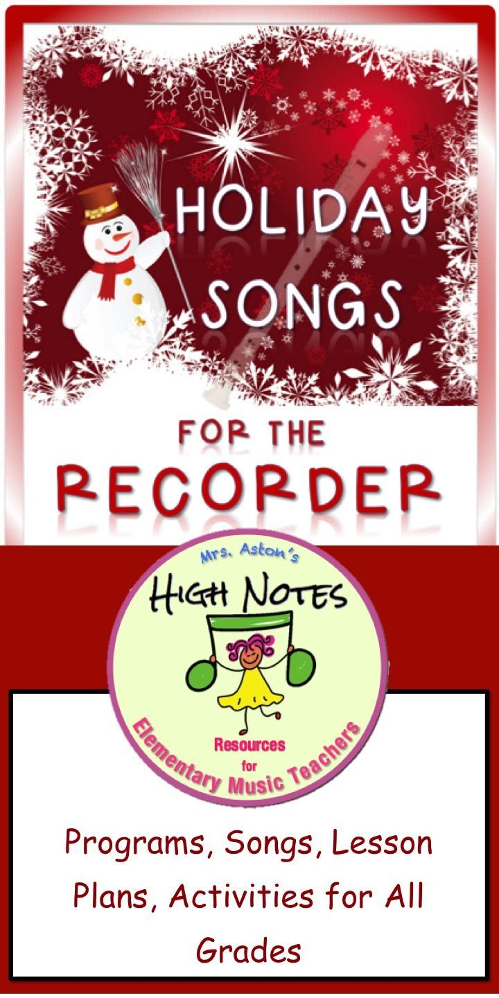 Wonderful program for elementary music. Includes lesson plans, activities, and accompaniment tracks for Levels 2-3 recorder songs. Narration for a program for all grade levels.