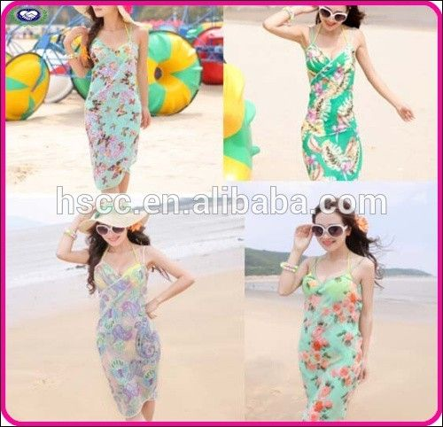 high quality full sexy beach dress cover up summer swim dress for lady girl #Woman_Beach, #Seaside