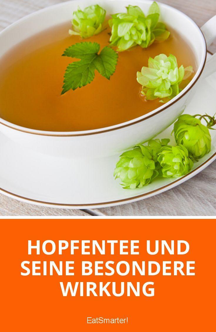 Hopfentee und seine besondere Wirkung   eatsmarter.de