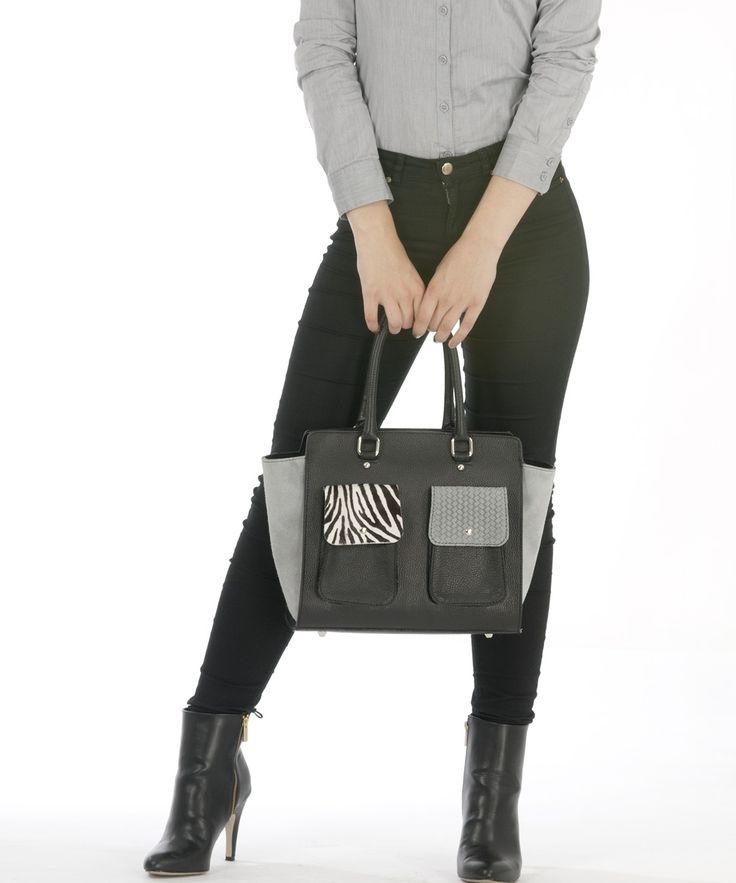 Einzigartige Sunsa Damen Ledertasche Handtasche. Perfekt für Meetings, Büro, für den Stadtbummel oder zum Weggehen!