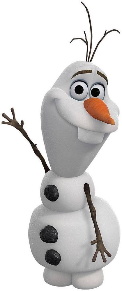 OLAF SNOWMAN FROZEN Disney Decal Removable WALL STICKER Home Decor Art Kids Huge