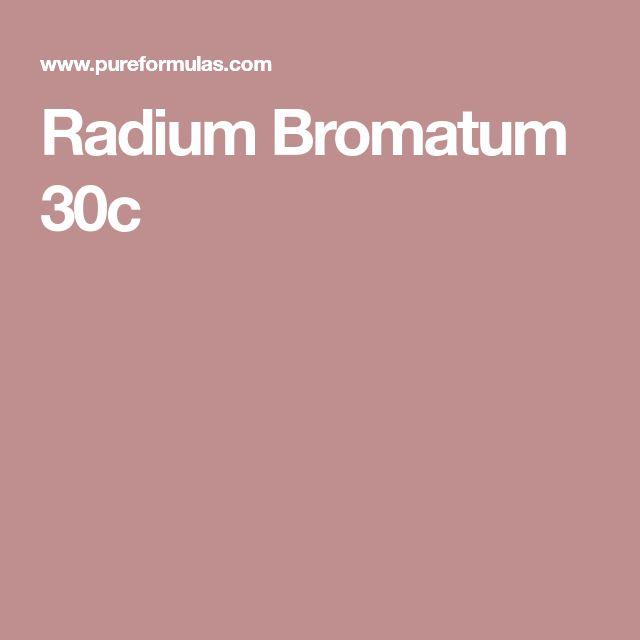 Radium Bromatum 30c