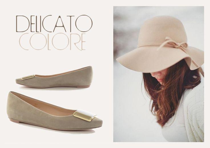 #Ballerina in #camoscio con accessorio fibbia frontale Tod's: la classe color sabbia. http://bit.ly/1yPRlCu #scarpe #shoes #moda #grandifirme #qualità