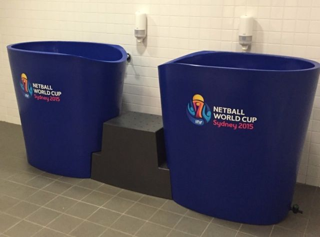 Ice baths for sale at the iconic pride on the line. Ice baths on sale now at our Adelaide office all and shipment can be done all over the world. Talk to us