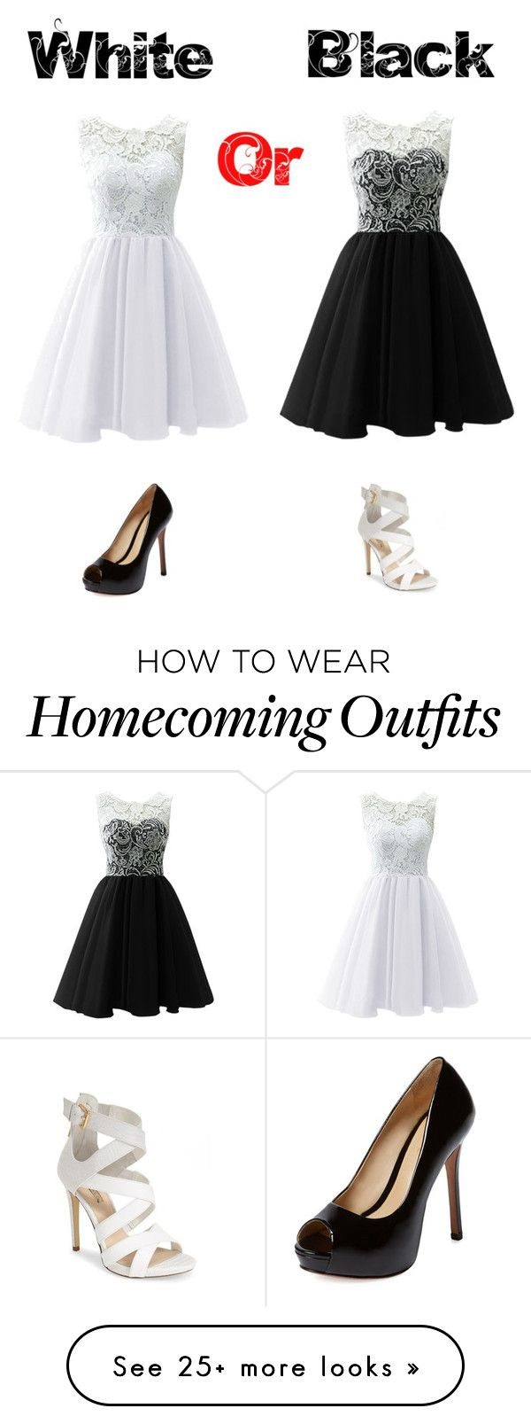 """""""White or black?⚪️⚫️"""" by luna1116 on Polyvore featuring Schutz and GUESS"""